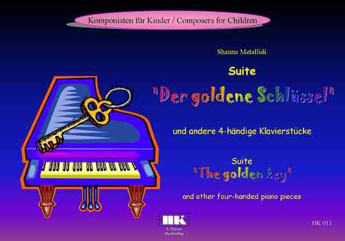 "Suite ""The golden key"" and other four-handed piano pieces"
