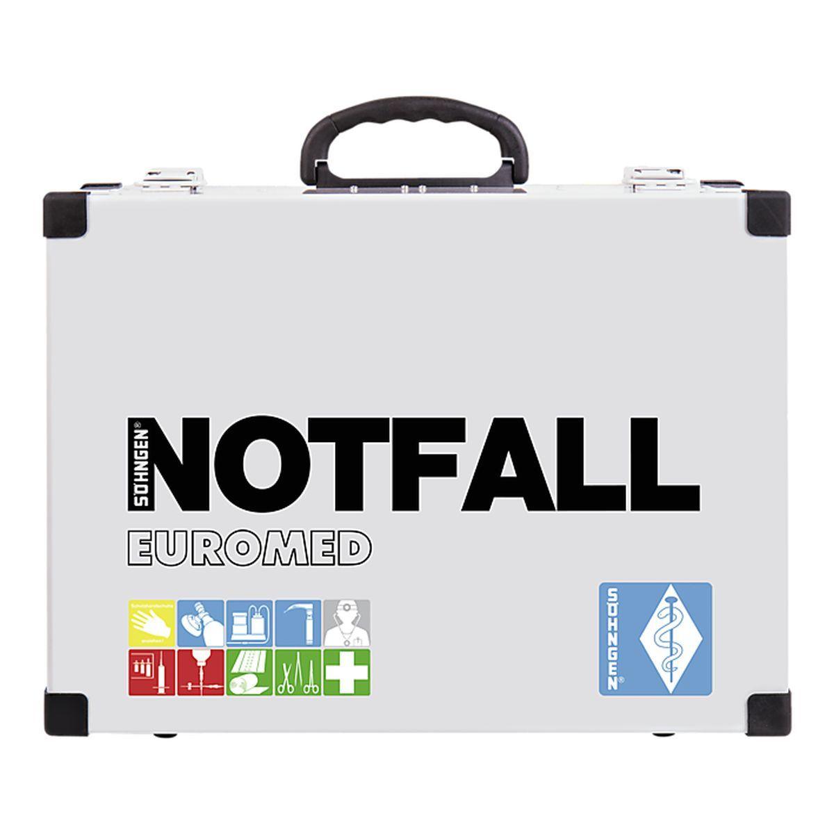 Notfallkoffer EUROMED Modul A + B