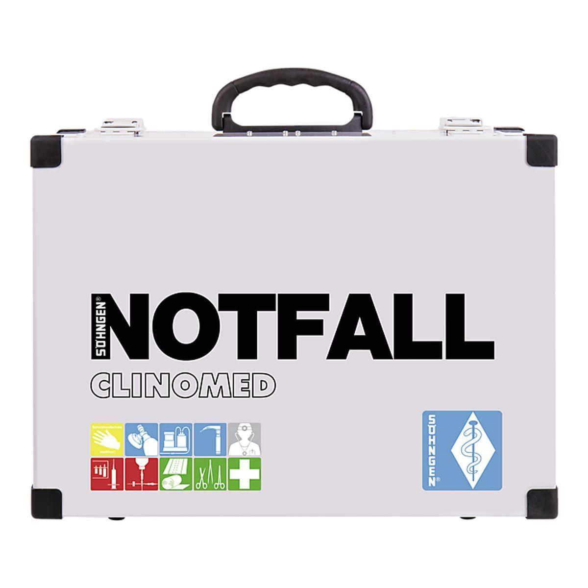 Notfallkoffer CLINOMED Modul A + B