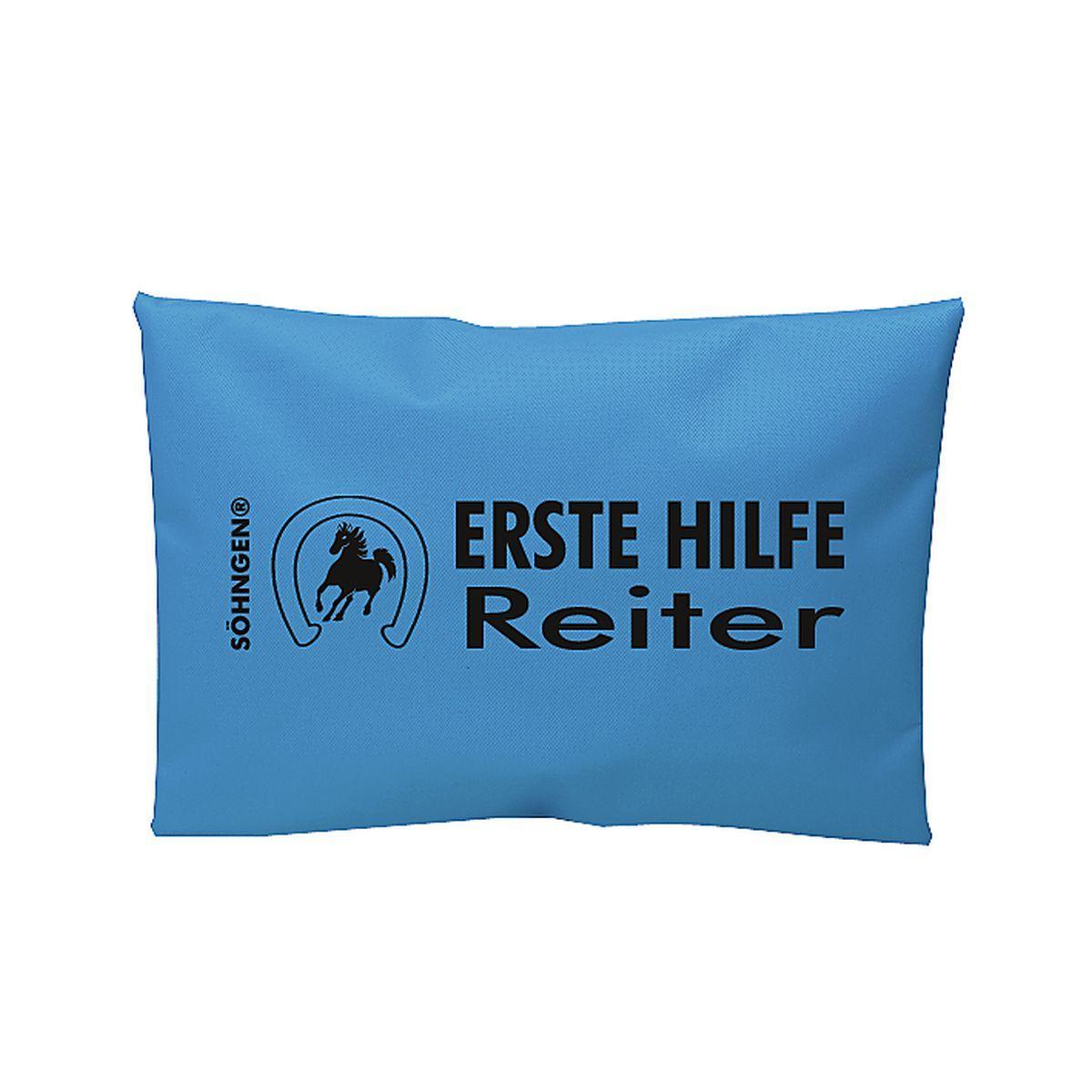 Erste Hilfe Reiter blau
