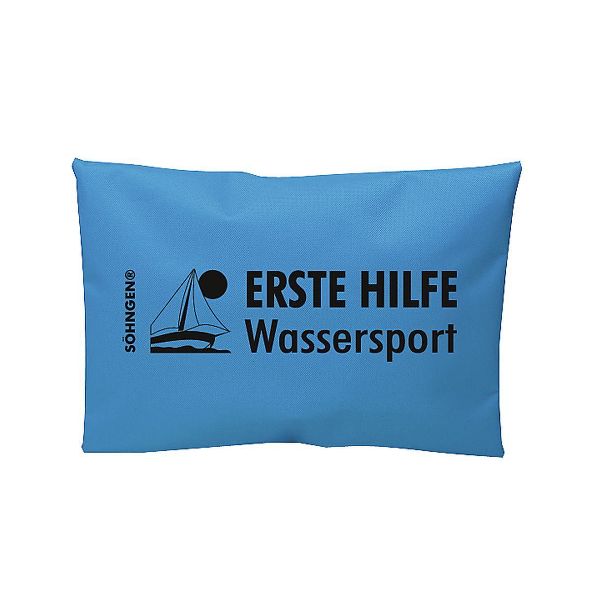 Erste Hilfe Wassersport blau