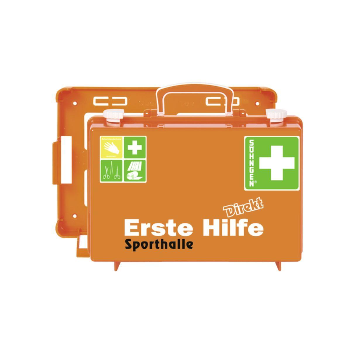Erste Hilfe Koffer DIN 13157 DIREKT, Sporthalle