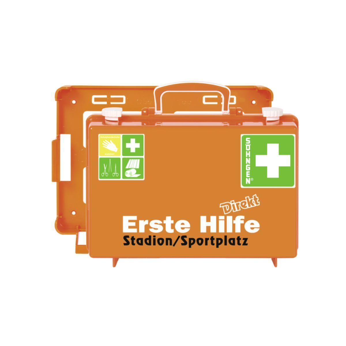 Erste Hilfe Koffer DIN 13157 DIREKT, Stadion/Sportplatz