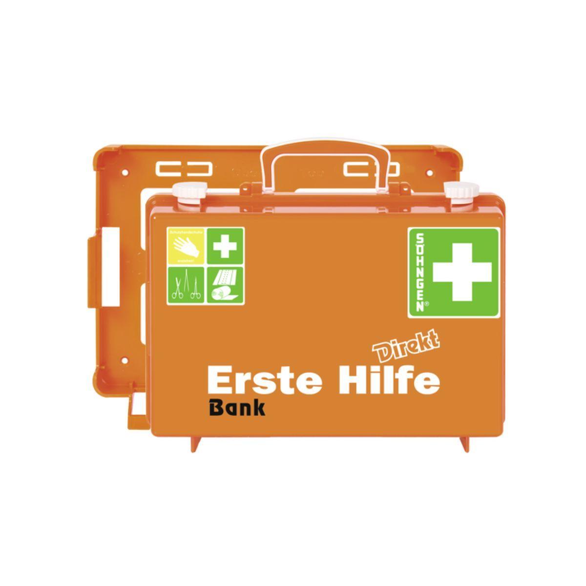 Erste Hilfe Koffer DIN 13157 DIREKT, Bank