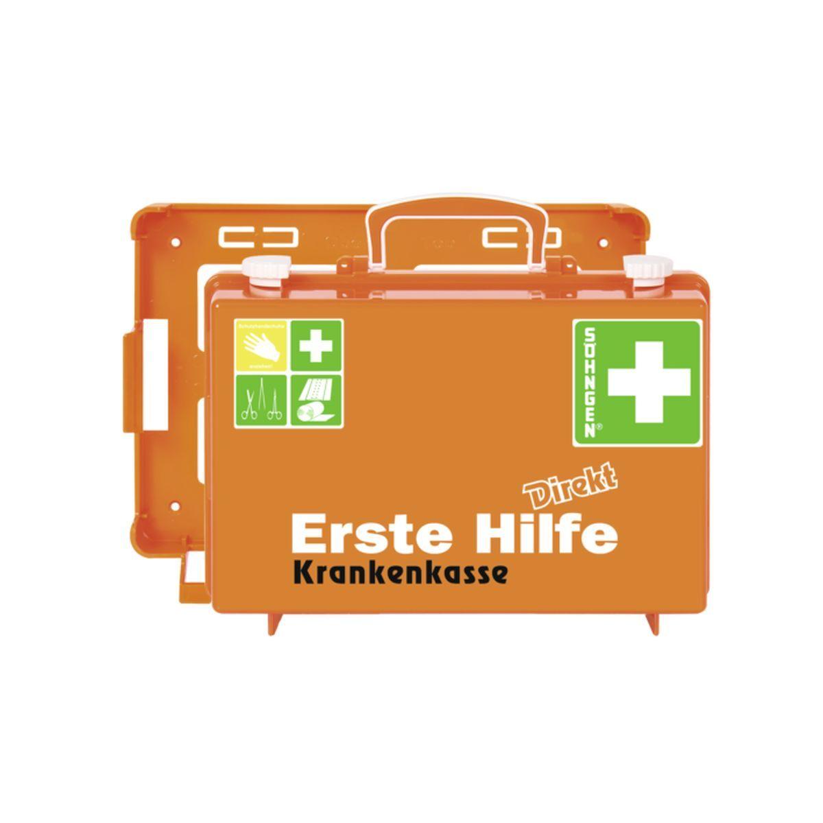 Erste Hilfe Koffer DIN 13157 DIREKT, Krankenkasse