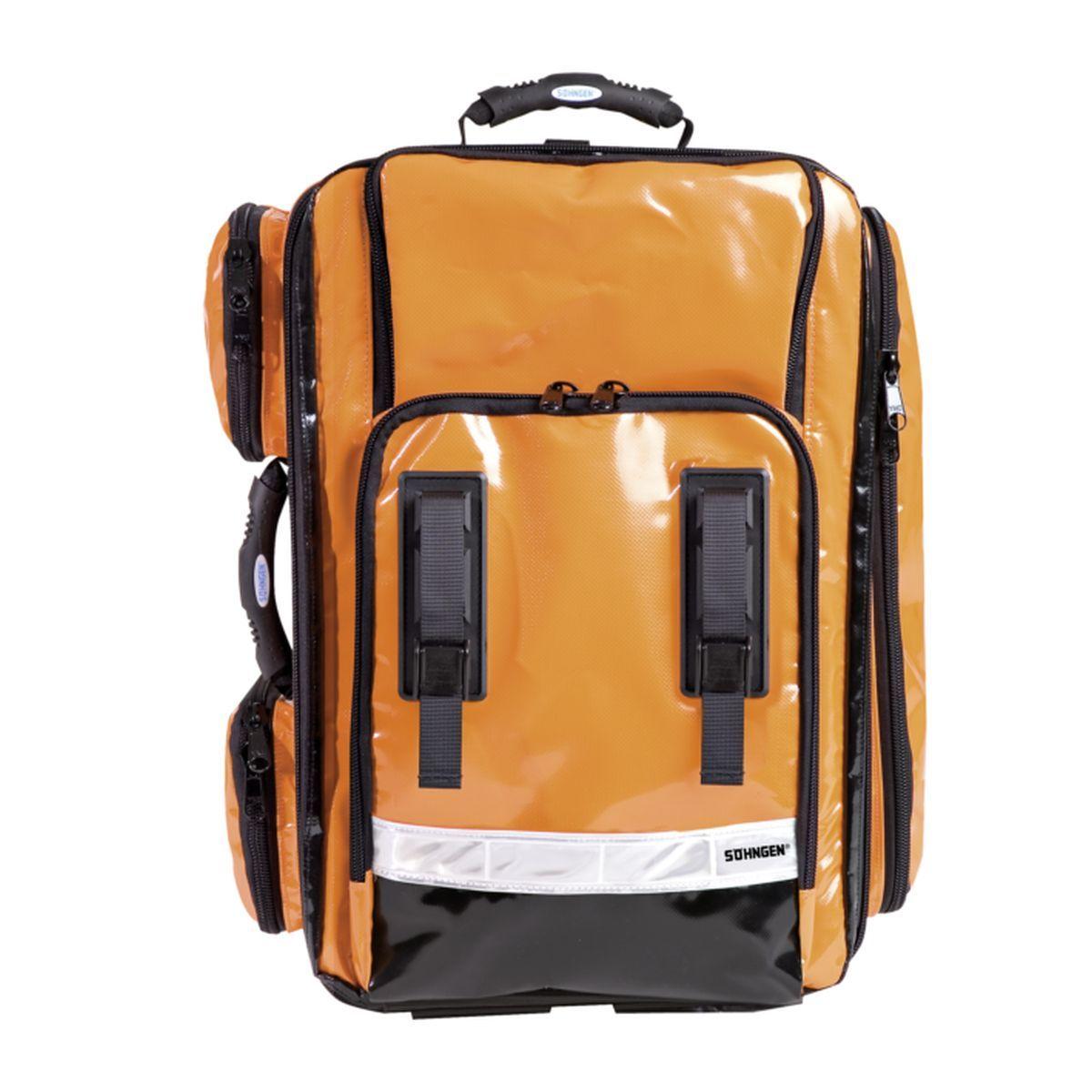 NumberOne Notfallrucksack orange gefüllt Modul A+B+C