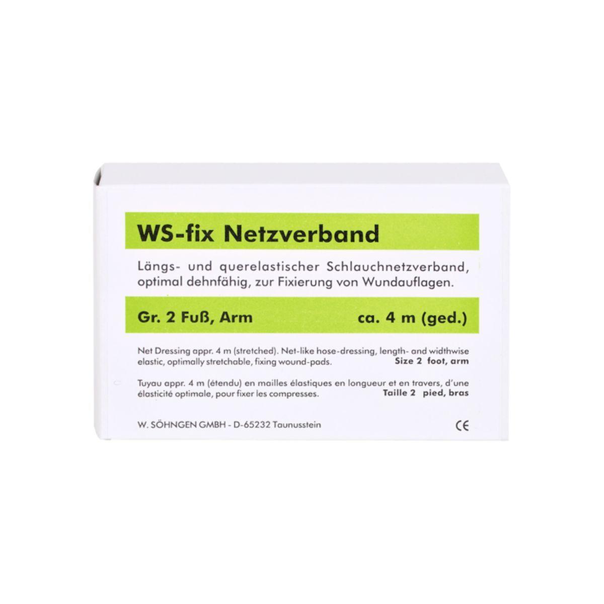 WS-fix Netzverband  4 Meter Gr. 2 Fuß, Arm
