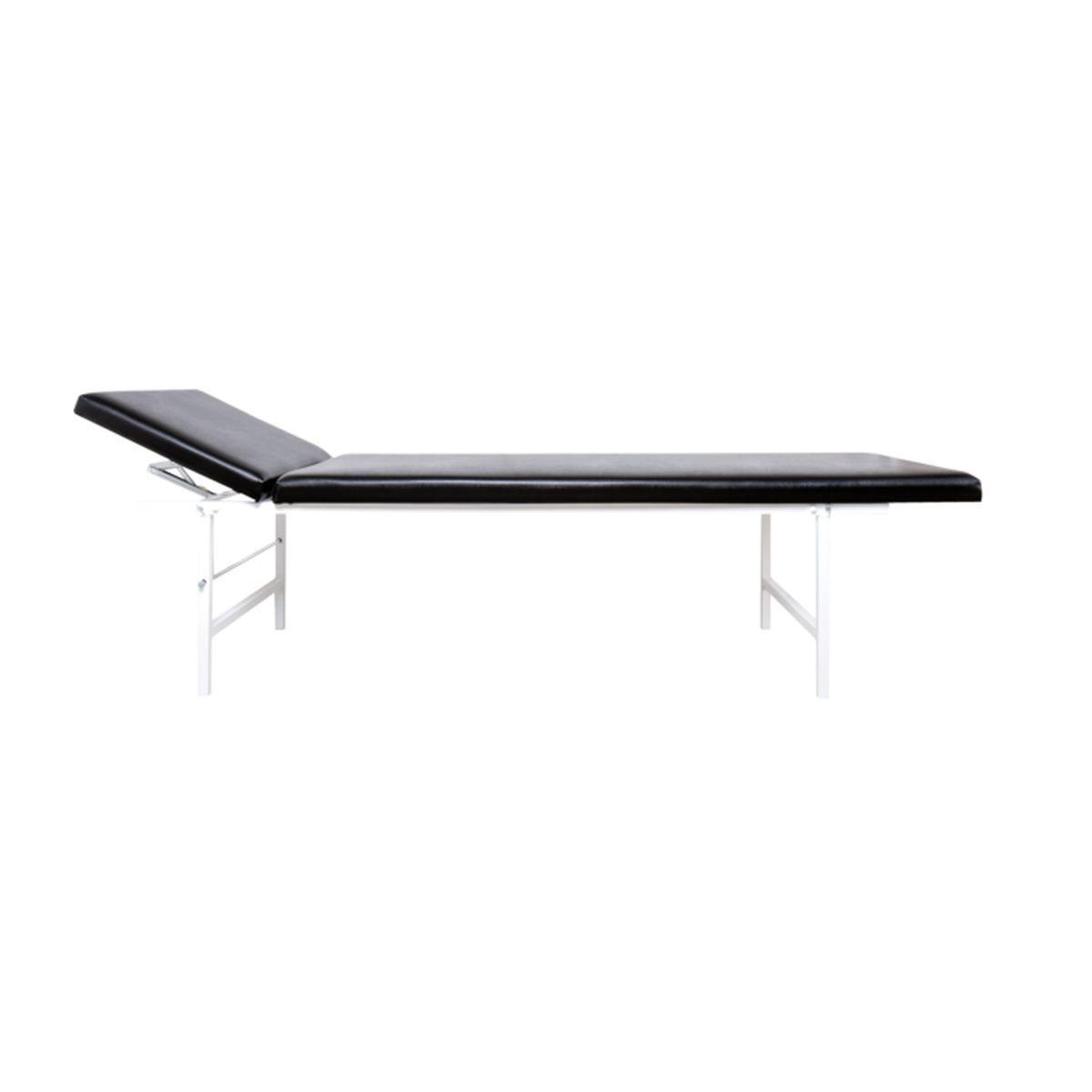 ruheraumliege stahlrohr kopfteil verstellbar natur online. Black Bedroom Furniture Sets. Home Design Ideas