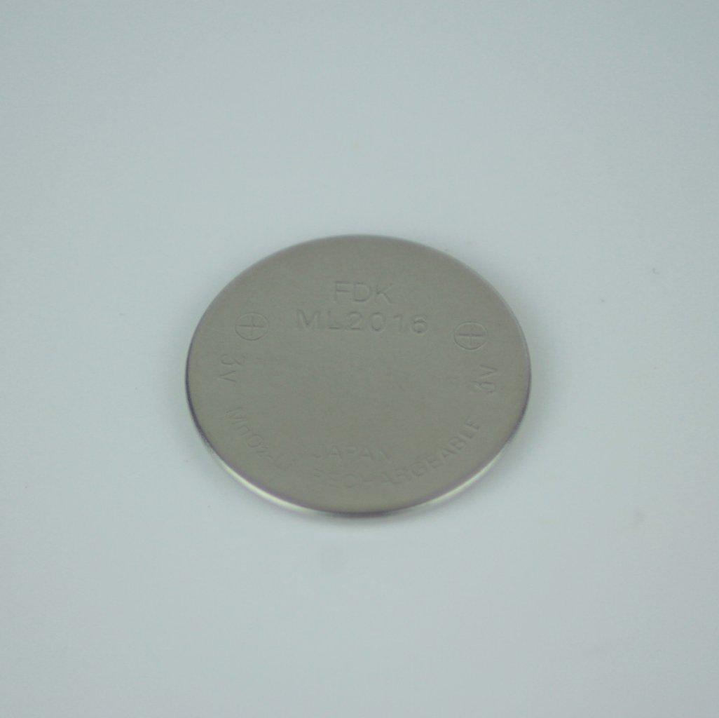 FDK ML2016, rechargeable, 3V AKKU CMOS batterij