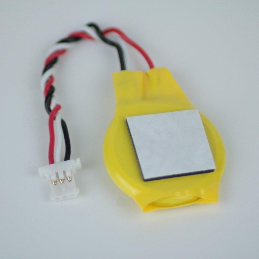 Bios CMOS Batterie, 3V verkabelt mit 3pin Stecker
