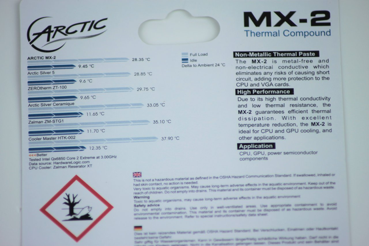 Arctic MX-2 Thermal Compound / Grease