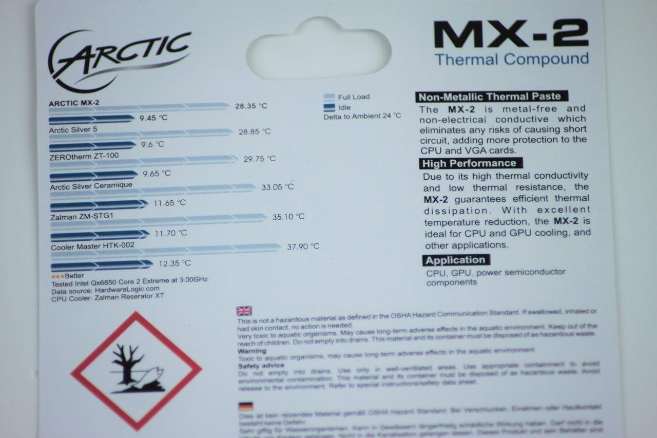 Arctic Pasta Térmica MX-2