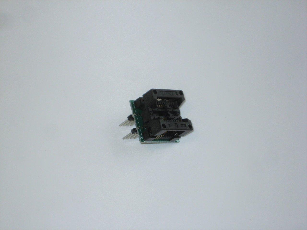 Programmeeradapter DIP voor SOIC-8 / SOP8 (209mil)