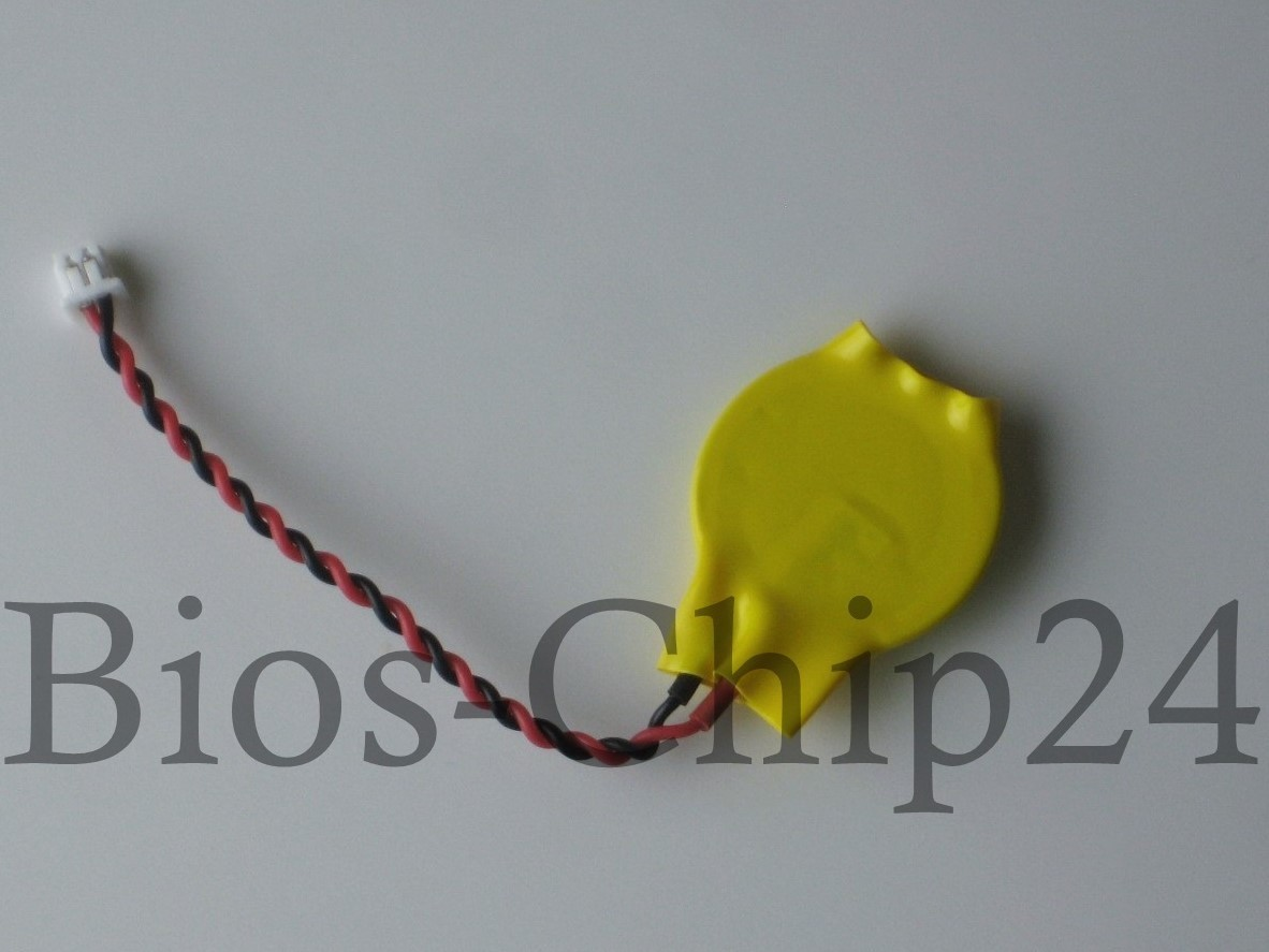 3V CMOS Batterie, CR2016, mit Kabel (KTS CR2016W)