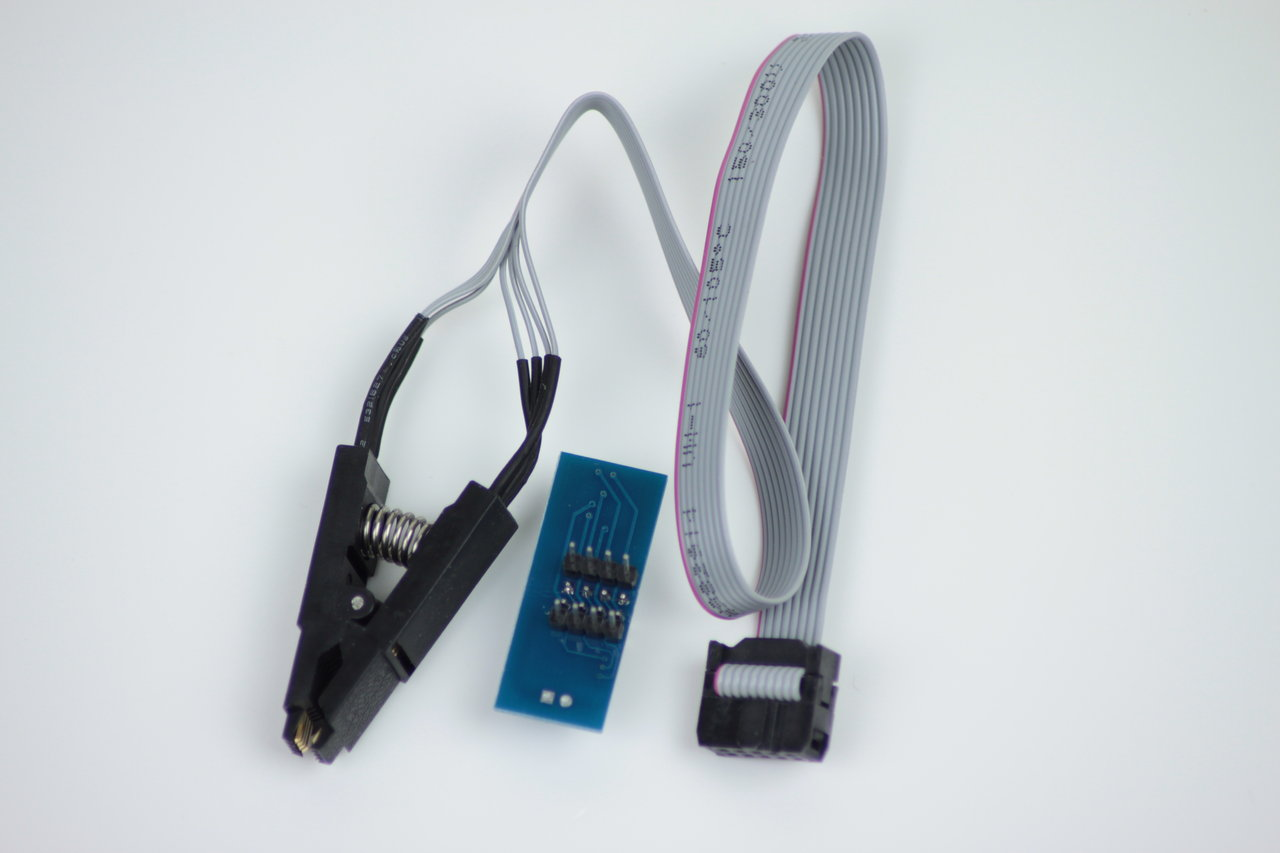 Programmier Adapter SOIC8 Clip - In Circuit Programmierung