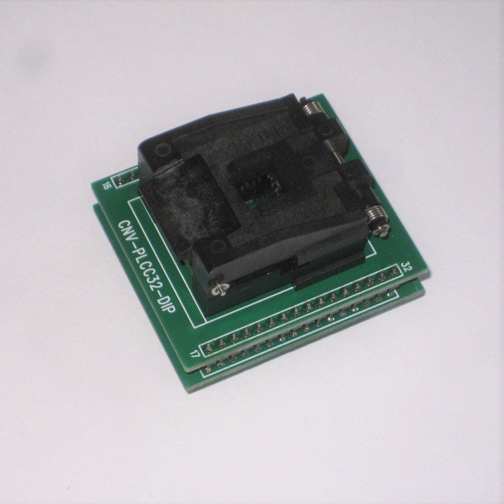 Programmiergerät Adapter DIP zu PLCC32