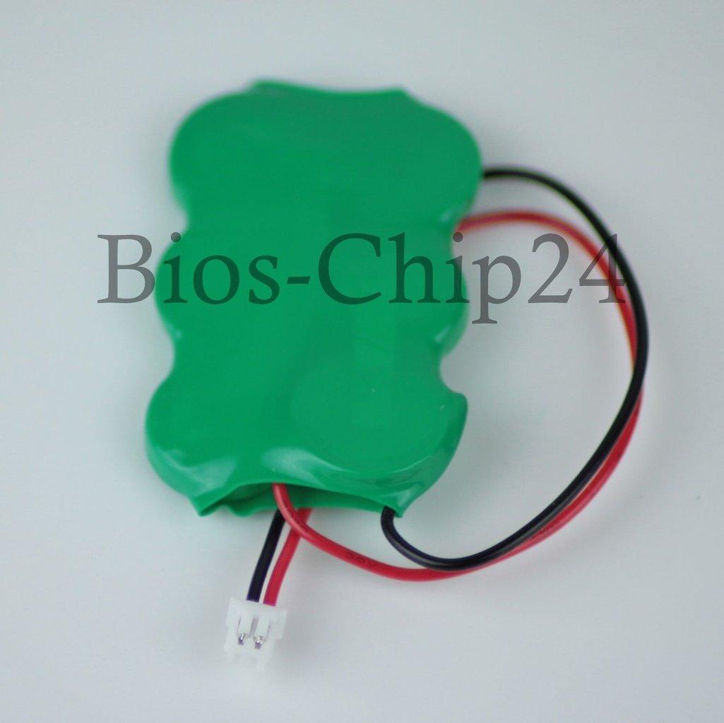 Bios CMOS Batterie, 7,2V Ni-MH mit 2pin Stecker
