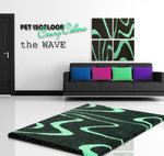 PET ISOFLOOR theWave Mint