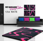 PET ISOFLOOR theWave Pink