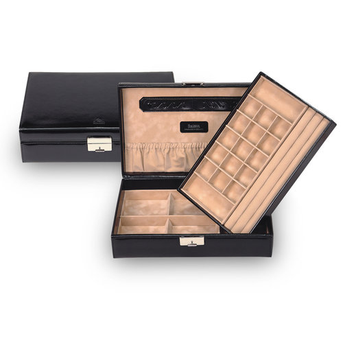 jewellery box Isa/ new classic, black