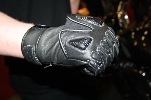 Motorcycle glove short