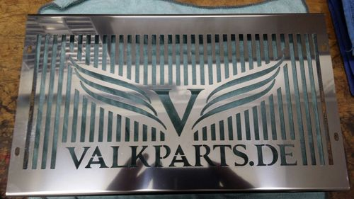 "radiator cover ""Valkparts"""
