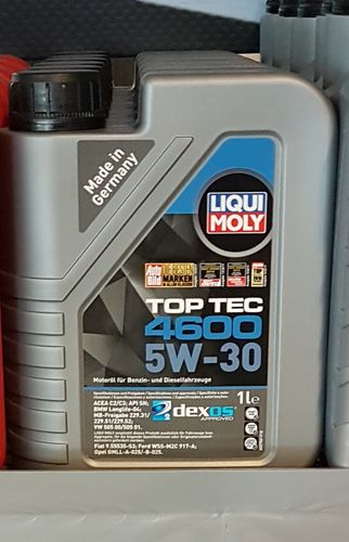 Liquid Moly 5W30 Top Tec 4600