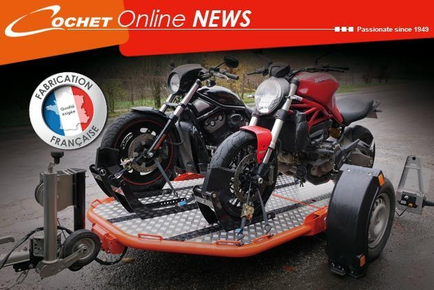 Trailer Motorcycle Cochet Duo
