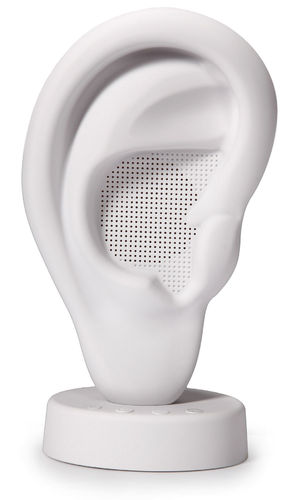"Bluetooth-Speaker-""Ear-Base"" white"
