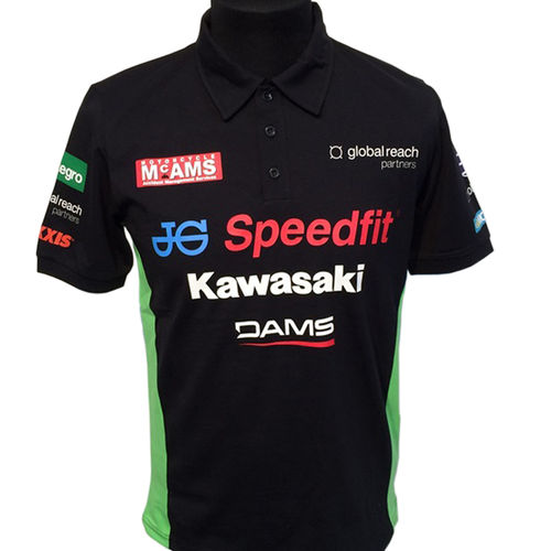 Kawasaki Polo Shirt BSB British Superbike Team