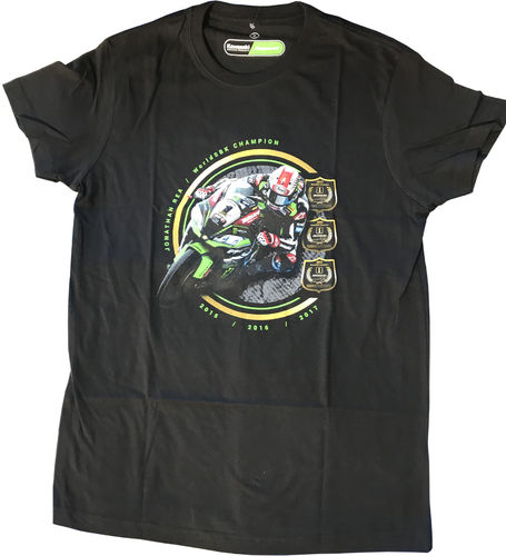 Kawasaki T-Shirt REA WORLD SBK CHAMPION #R3PEAT LIMITED EDITION