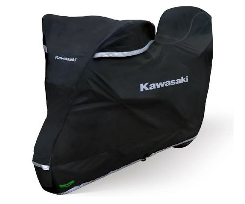 Kawasaki Bike Cover OUTDOOR PREMIUM Abdeckplane