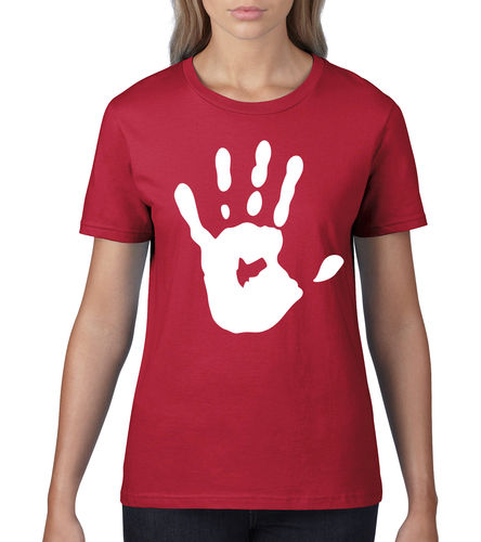 "Damen T-Shirt ""Handprint"""