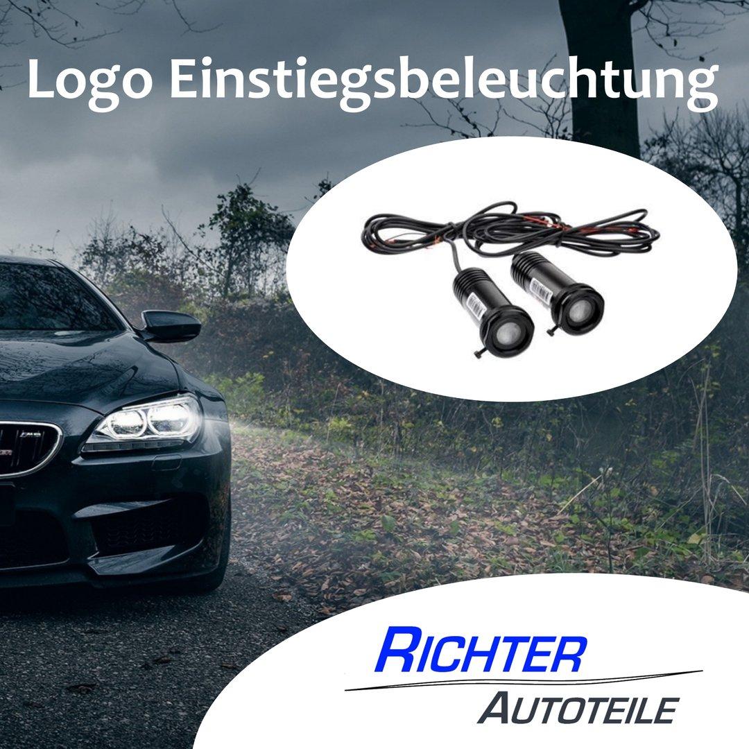 Türbeleuchtung passend für Audi S Line zum bohren
