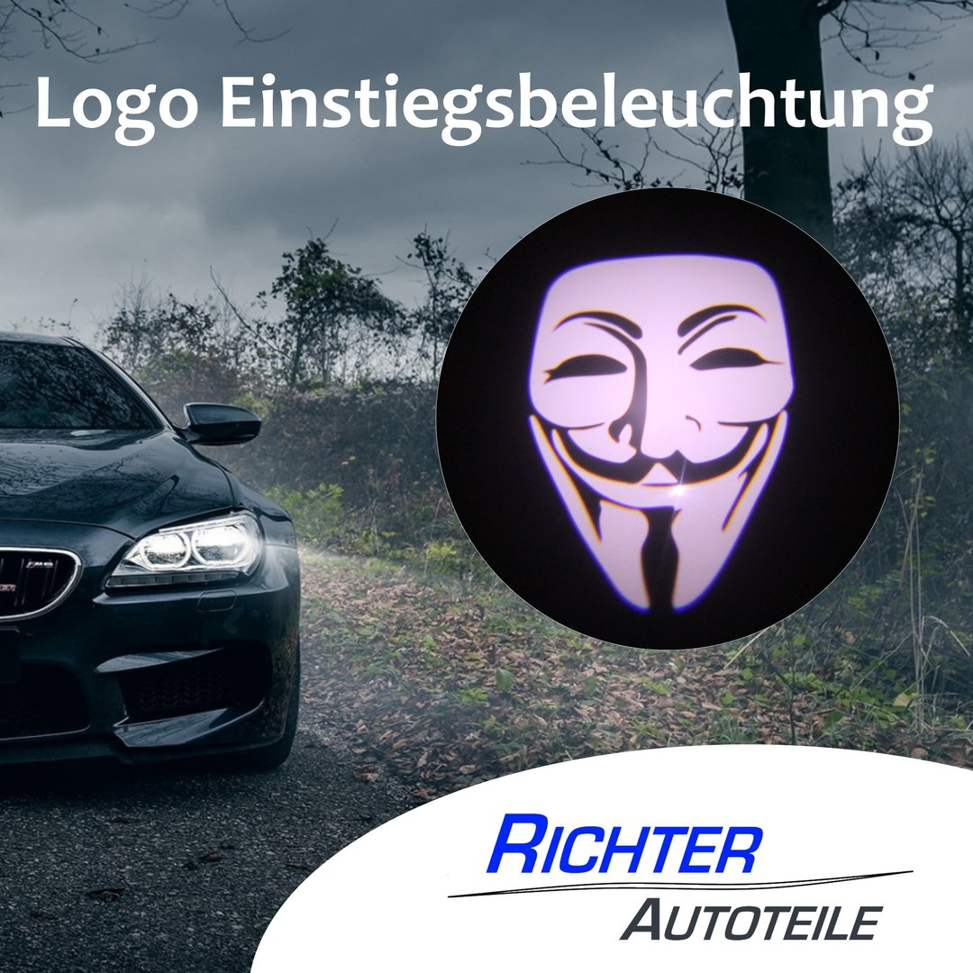 Türbeleuchtung Anonymous Mask