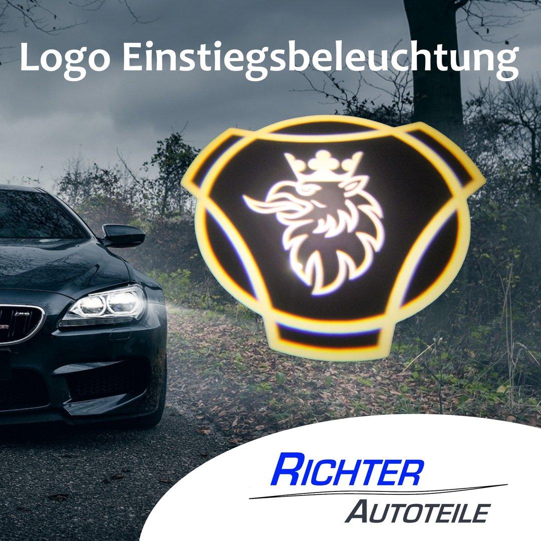 Einstiegsbeleuchtung Logo Scania - Richter Autoteile
