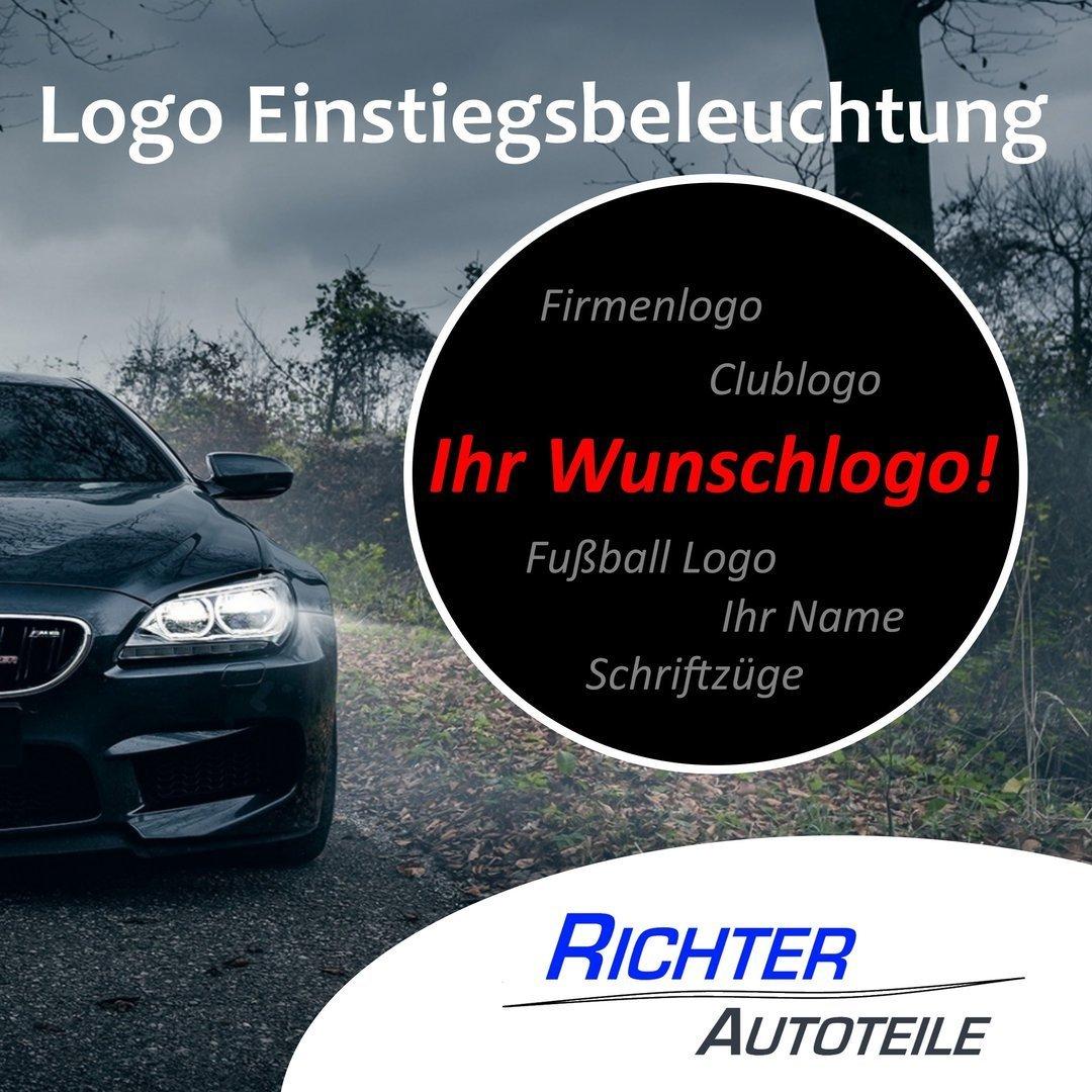 Türbeleuchtung Wunschlogo Plug&Play Opel Peugeot Renault Skoda Volvo