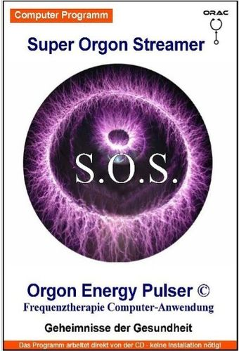 Orgon Energy Pulser Software Therapieprogram Modus Delta Theta Alpha Beta Hi-Beta Streamer