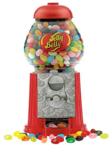 Jelly Belly Mini Maschine mit 100g Beutel