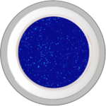 Blue – Star (Glitter - Farbgel)
