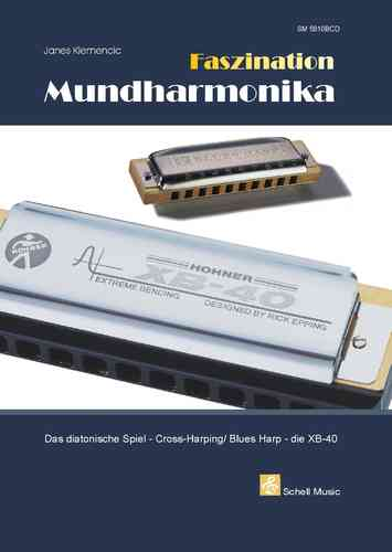 Faszination Mundharmonika (Blues Harp/ XB 40) - Buch & CD