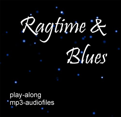 Ragtime & Blues/ Play Along Audio (mp3) Download