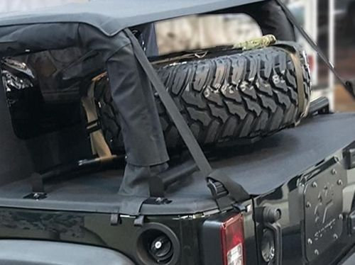 Spider Tire Rack für Ultimate Top - JK von Suntop