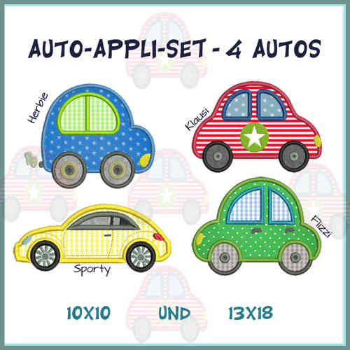Auto-Set 1-4 Stickdatei