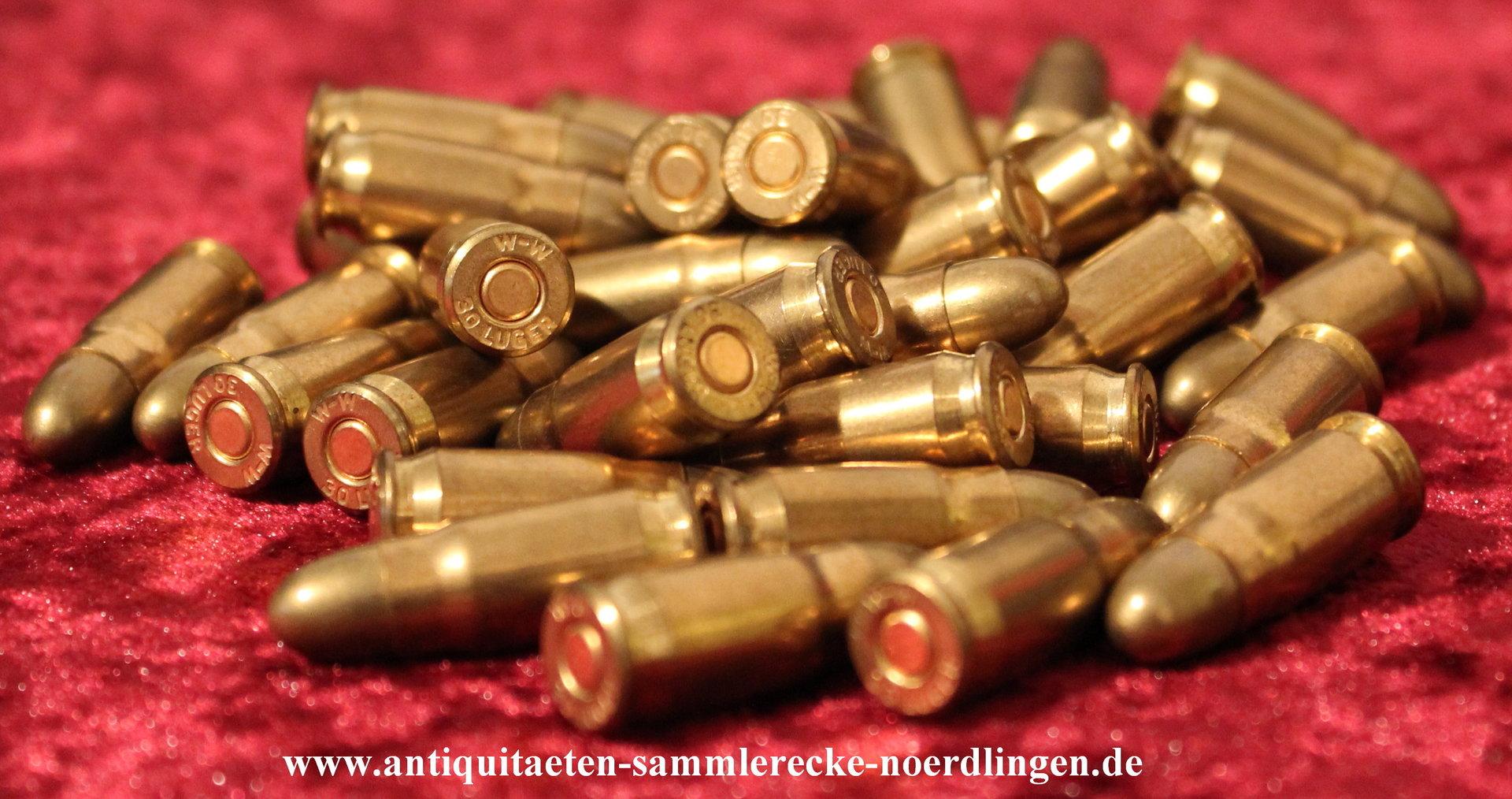 Deko Gewehr-Patrone .50 BMG