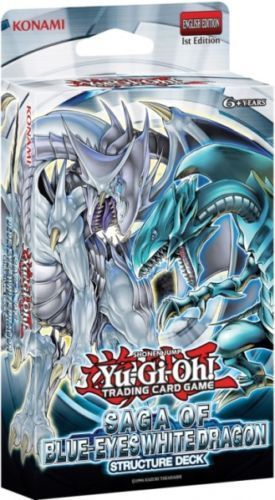 Structure Deck Saga of the Blue Eyes White Dragon (Release between middle June/July)