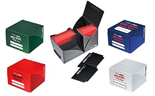 Ultra Pro Deckbox Dual holds up to 180 Cards