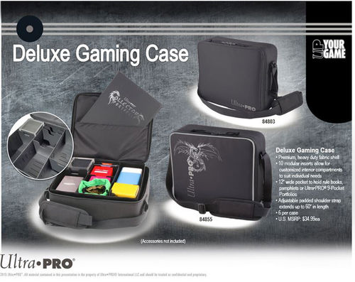 Ultra Pro Portable Deluxe Gaming Case Dragon