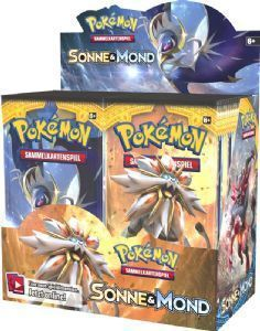 Sonne Mond Serie 1 Booster - Display- deutsch