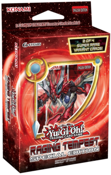 Yugioh! Raging Tempest Special Edition Presale (Release/shipping 10.3.2017)